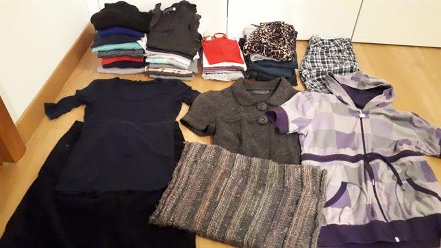 Zestaw 25szt za 25zl - wymiana szafy, ubrania rozmiar 36-38 (S/M)
