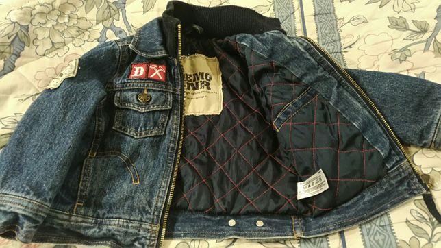 Джинсовая куртка(демисезонная)