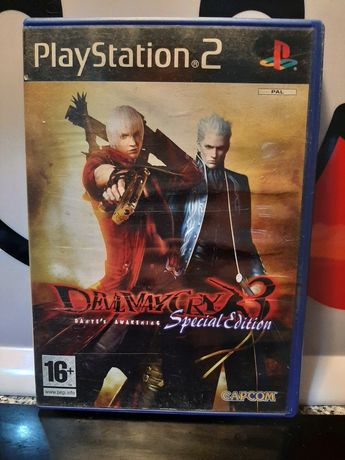Devil may cry 3 special edition playstation 2