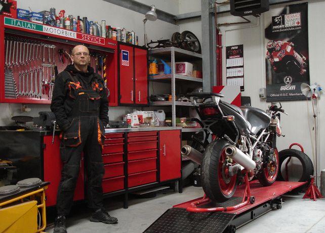 Serwis Ducati, Moto Guzzi, Triumph - DESMODROM Kielce