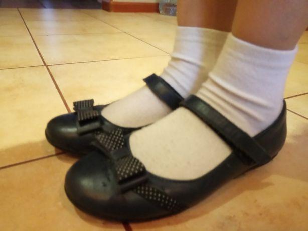 Кожаные туфли 33 р