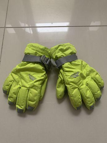 Rękawiczki 134/140 TRESPASS żółto zielony neon regulacja