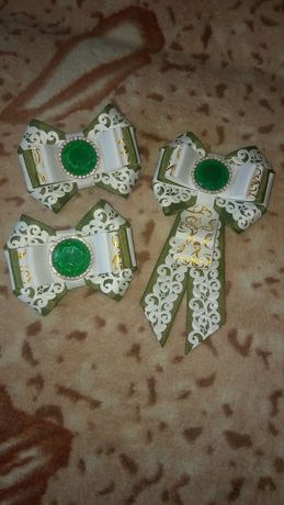 Шкільний набір, галстук і банти. Школьный набор, галстук и банты