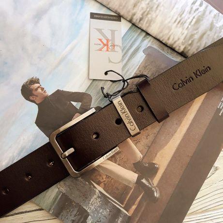 Мужской кожаный ремень Calvin Klein/Lacoste/Hugo Boss/Tommy Hilfiger