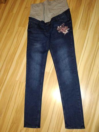 Jeansy ciążowe Esmara 38 + 2 bluzki do karmienia Reserved i H&M