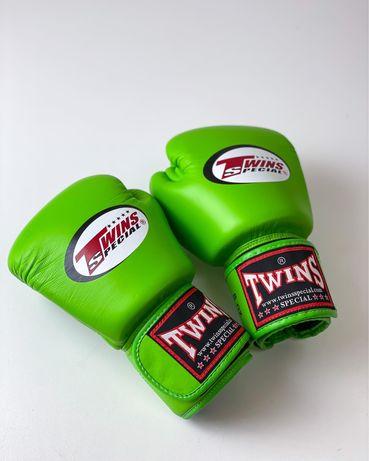 Боксерские кожаные перчатки Twins оригинал 8 OZ