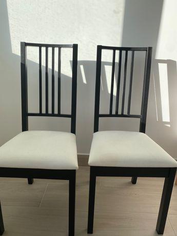 Vendo conjunto 6 cadeiras para zona de refeição - ikea