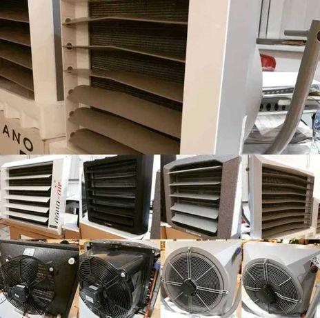 Nagrzewnica do garażu Volcano VTS vr mini AC 20kW II rzędy wymiennika