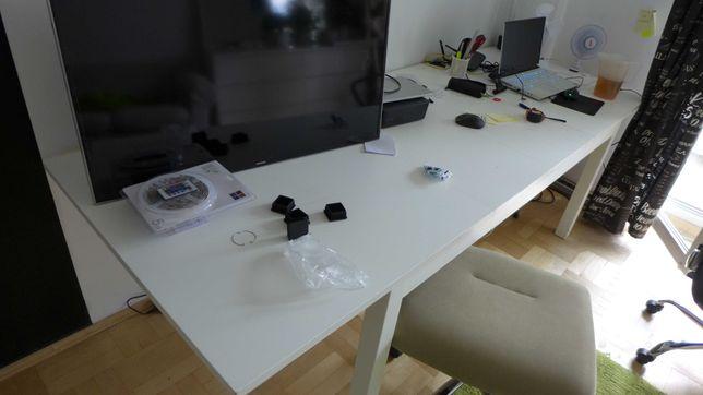 Stół - Duży rozkładany  - biały