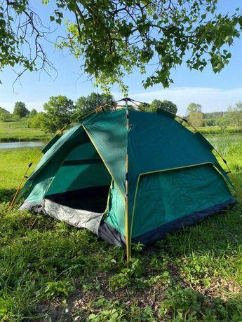 полусфера, купольная, четырехместная автомат двухслойная Палатка