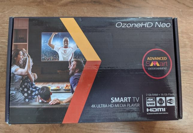 Android TV Приставка OzoneHD Neo