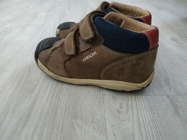 Ботинки ботиночки geox кожа кожанные