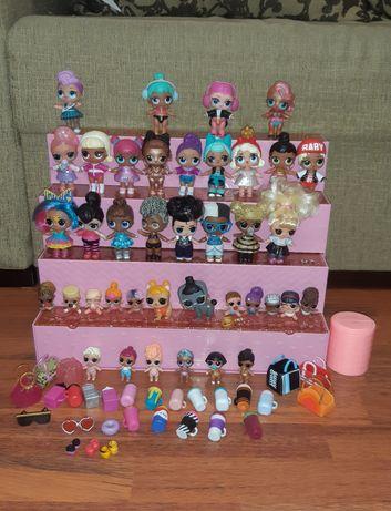 Набор подиум лол lol куклы