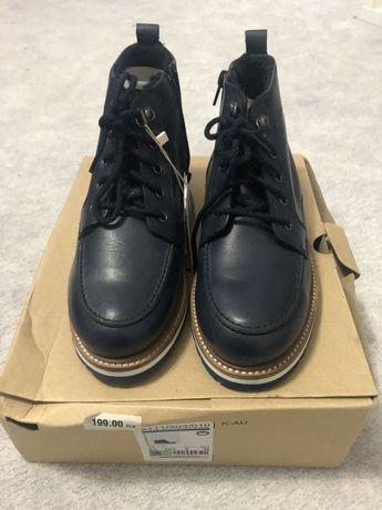 Zara 38 Boys NOWE chlopiece buty z kozuszkiem