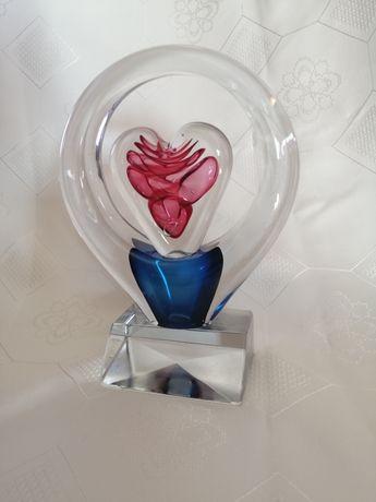 Szkło serce kolory