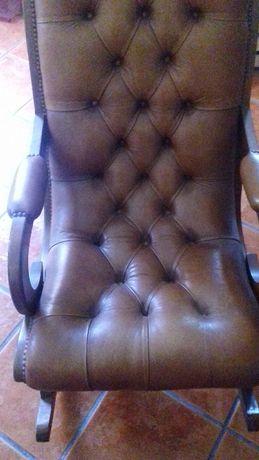 Cadeira vintage de balanço