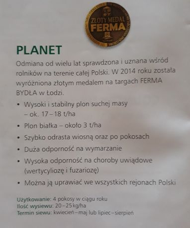Lucerna PLANET dsv