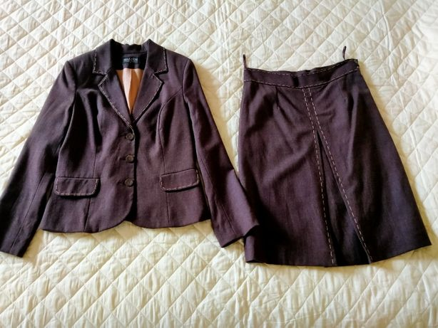 kostium BIALCON marynarka + spódnica