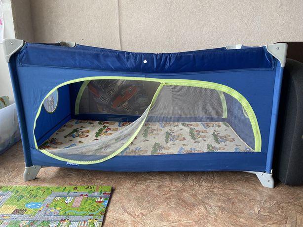 Детский туристический манеж кроватка Chicco
