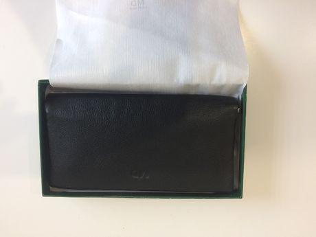 Кошелек портмоне клатч кожаный мужской MD / гаманець чоловічий шкіра