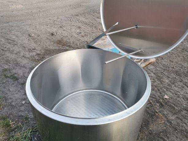 Zbiornik basen na mleko wraz z agregatem