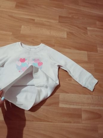 Кофточка кофта  свитшот реглан для девочки