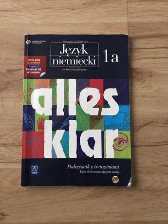Alles klar 1a rozszerzenie rozszerzony podręcznik niemiecki