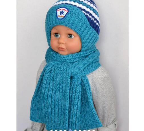 Шапка шарф зима новый арктик arctic