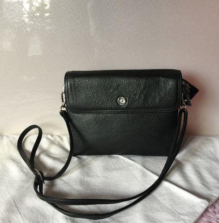 Женская кожаная сумка клатч бренд Karya.