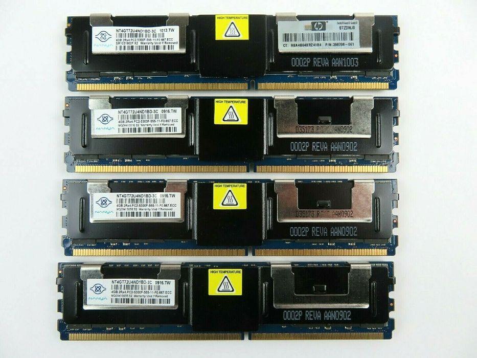 Серверная DDR2 4GB 5300F / 8GB 5300F 667MHz ECC REG (буфферизиров Киев - изображение 1