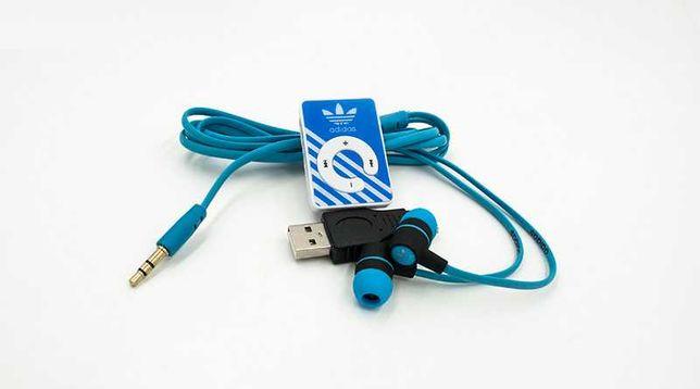 Mp3 Player Adidas Blue.Музыкальный Плеер Адидас Мп3.Аудиоплеер