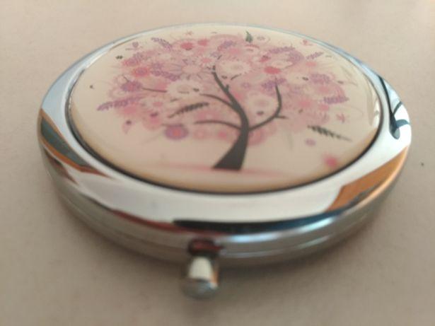 Espelho de maquilhagem portátil (bolsa/mala)