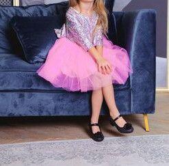 Нарядное платье Пышная фатиновая юбка