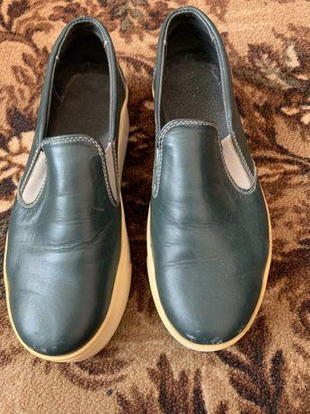 Удобная обувь, кожанные