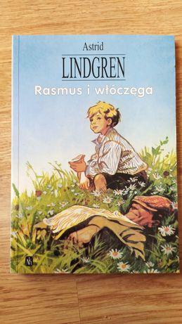 "Książka ""Rasmus i włóczęga"" Astrid Lindgren"