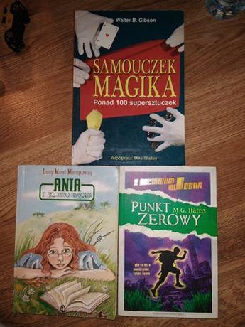 Książki młodzieżowe, całość za 5 zł