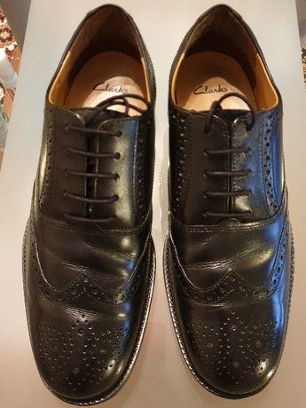 Clarks SKÓRA NAT. buty męskie pantofle r 42