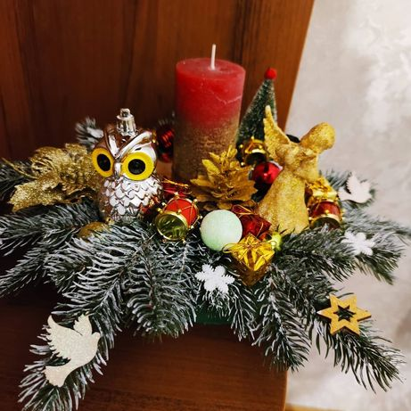 Підсвічники Різдвяні,Новорічні композиції