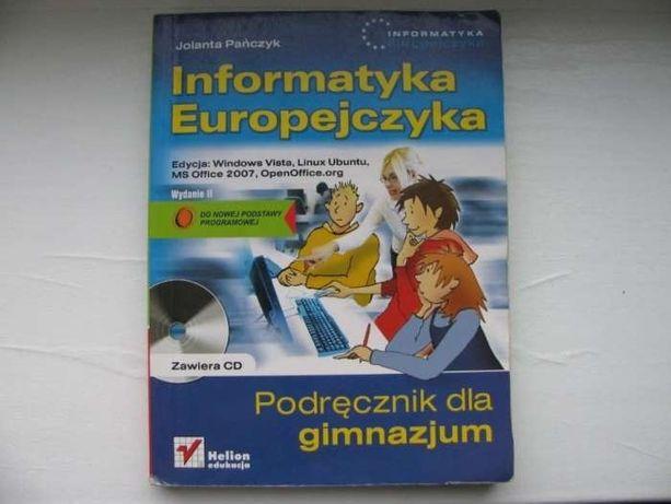 Informatyka Europejczyka Podręcznik z CD dla Gimnazjum - Helion