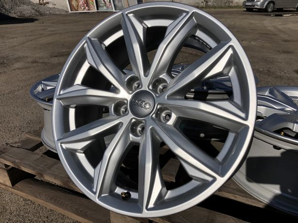 5х112 r17 Audi А6 Q5 VW Диски литые оригинал как НОВЫЕ 20 год