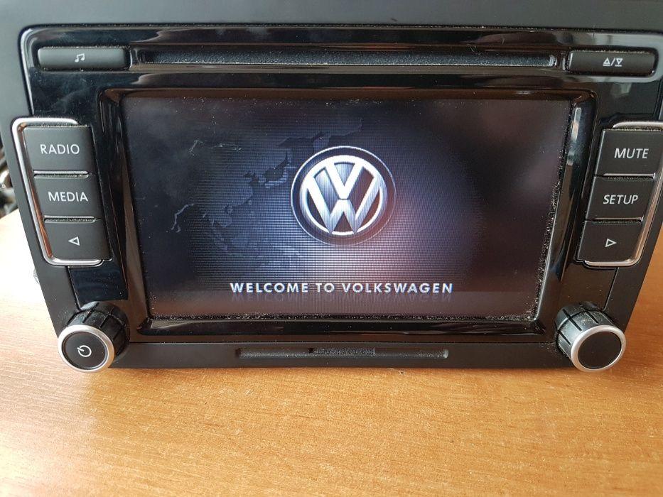 Radio VW Tiguan rcd 510 USB Świba - image 1