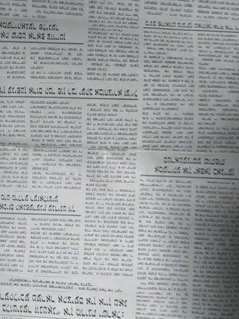 Fragmenty gazet z ataku na WTC w 2001r w NYC.