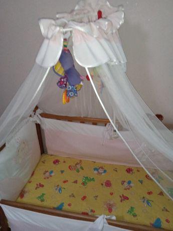 Продаю  децькую кроватку з матрасом и бортиками