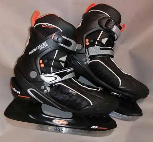 HY SKATE łyżwy hokejowe, rozmiar 43, wkładka 27,5 cm, torba. NOWE