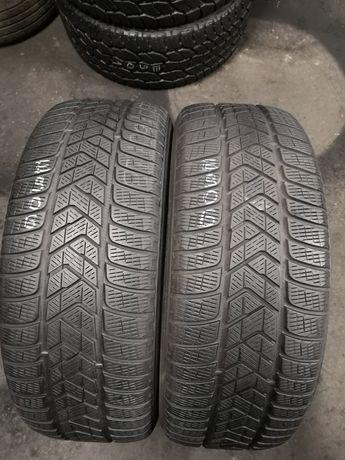 Opony zimowe 235/60/18 Pirelli 2szt 5,5mm