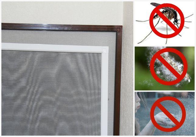 Москитные сетки на пластиковые окна. Москитная сетка на двери, установ