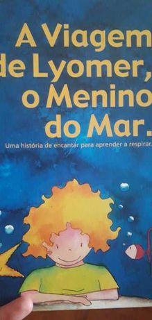 Livro «A viagem de Lyomer, o Menino do Mar»