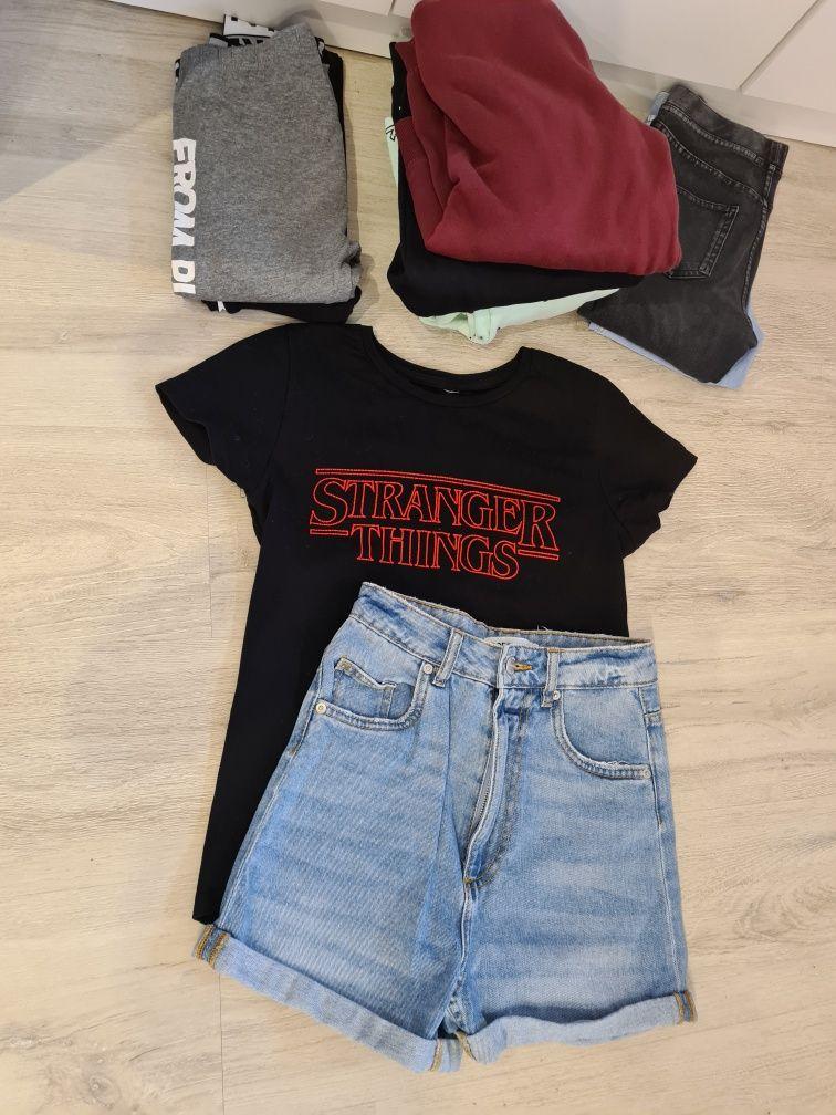 Zestaw ubrań dla dziewczynki 8-10 lat