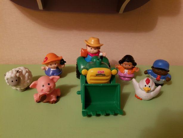 Fisher Price Little People набор Ферма человечки