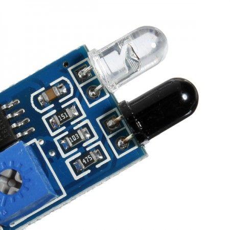 Sensor de obstáculo reflexivo infravermelho IR